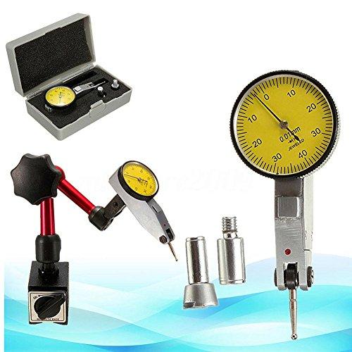 RUNGAO Zifferblatt Test Indikator Gauge Maßstab Präzision mit magnetischer Basis Halterung Ständer