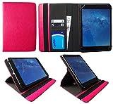 Sweet Tech Majestic TAB-611 3G 10.1 Pollici Tablet Rosa Universale 360 Gradi di Rotazione PU Pelle Custodia Case Cover (9-10 Pollici