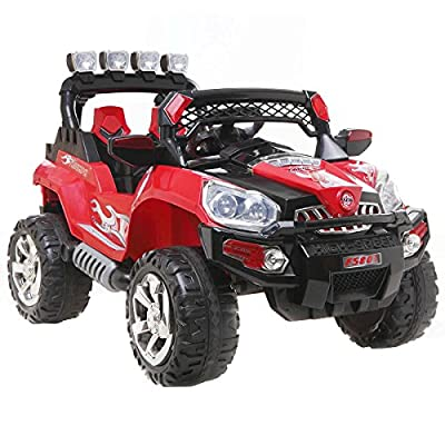 SUV Kids Ride On Car Electric Battery Parental Remote Control Jeep Toys Children - The Perfect Gift For Your Children.