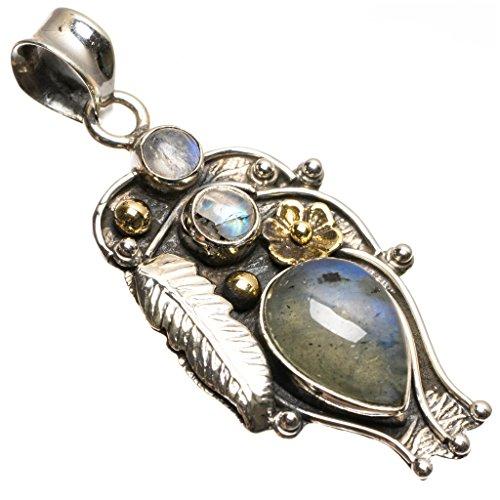stargems-tm-naturel-labradorite-et-pierre-de-lune-boho-style-vintage-argent-sterling-925-pendentif-5