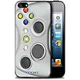 Coque de Stuff4 / Coque pour Apple iPhone 5/5S / Blanc Xbox 360 Design / Console (jeux vidéo) Collection