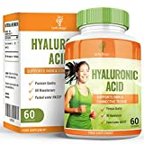 Acide hyaluronique - Maximum Strength Supplement for Men & Women - 60 Capsules by Earths Design