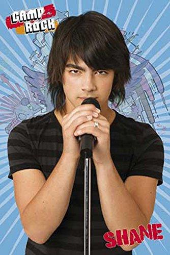 Camp Rock - Jonas Brothers - Shane Blue - Filmposter Kino Movie TV-Serie Musik - Grösse 61x91,5 cm + 2 St. Posterleisten Holz 61,5 cm