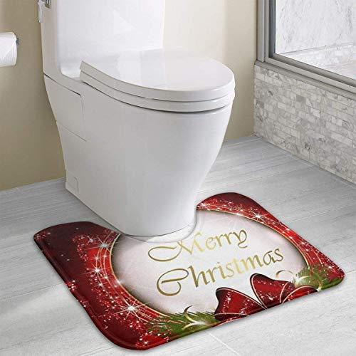 rte Toilette Individuelle Gestaltung Ihrer eigenen Fotos WC U-förmige MatteCartoon weiche Matte Dusche Boden Teppichboden Badezimmer ()