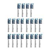 The Good 20 X ERSATZ Zahnbürsten Kompatibel für Braun Oral-B TriZone, Generisch Pack Aufsteckbürsten mit guter Qualität, Modellnummer EB-30A