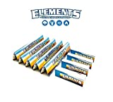Elements 5 x KING SIZE SLIM ROLLING PAPERS + 4 PREMIUM ROACH TIPS