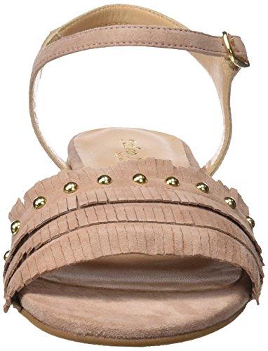 PEDRO MIRALLES 19013, Sandali con Cinturino alla Caviglia Donna Rosa (Maquillaje)