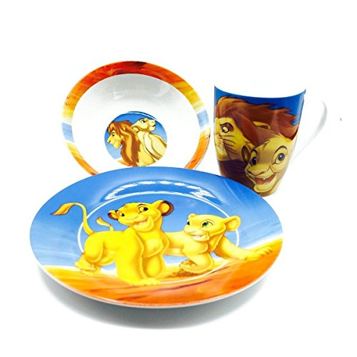 Disney Classic Lion King Ceramic Dinner Gift Set