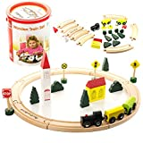 ActiviKid Wooden Train Set | Early Learning Toys For Kids | 24-piece Small
