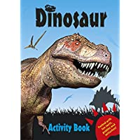 Childrens Dinosaur Activity Learning Colouring Puzzle Books Kids Learning Aids