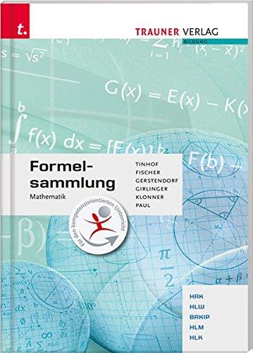 Formelsammlung Mathematik