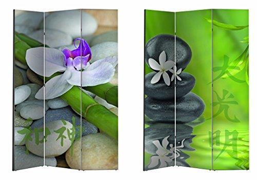 Paravent / Raumteiler / Spanische Wand / Trennwand versch. Motive (Blüte)
