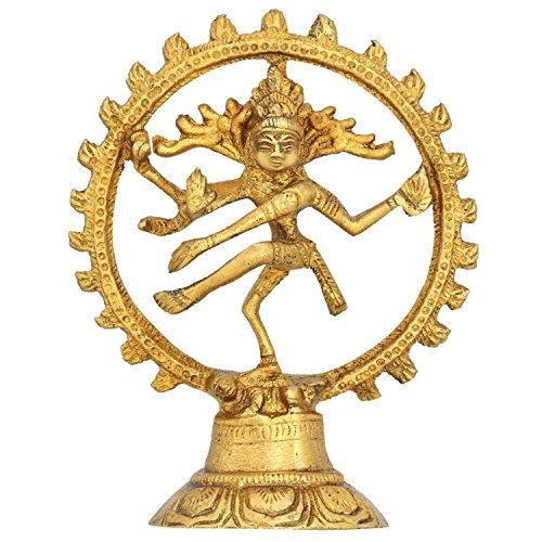 Bailando Dios shiva natraj estatua - idea regalo estatuilla