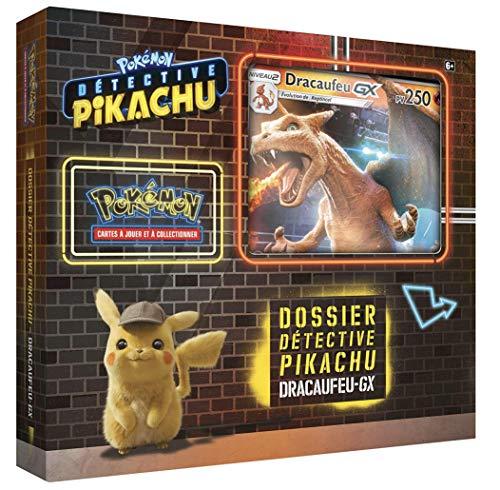 Pokémon - Collection Detective Pikachu Coffret 6 boosters 'Dracaufeu-GX' 250 PV - Version Francaise