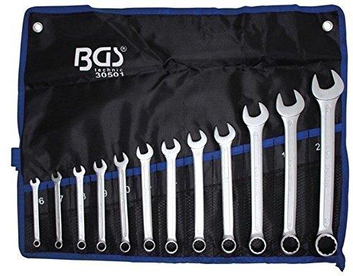 Bgs Clé mixte Jeu de clés, 12 pièces, 1 pièce, 30501