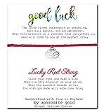 Believe Lucky Roter Schnur Freundschaft Armband