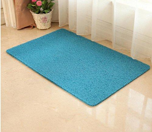 TINE HOME CURTAINS Hochwertige Anti-Rutsch-Matten & Teppiche PVC-Teppich-Hall Foyer Schlafzimmer Boden Matte Verdickung Teppich Weiche Schlafzimmer Matten (50 * 80CM), 4, 45 * 120cm