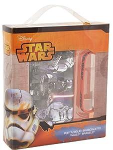 CORIEX d90541AS-Star Wars Cartera, Fan de Pulsera, Varios Juguetes