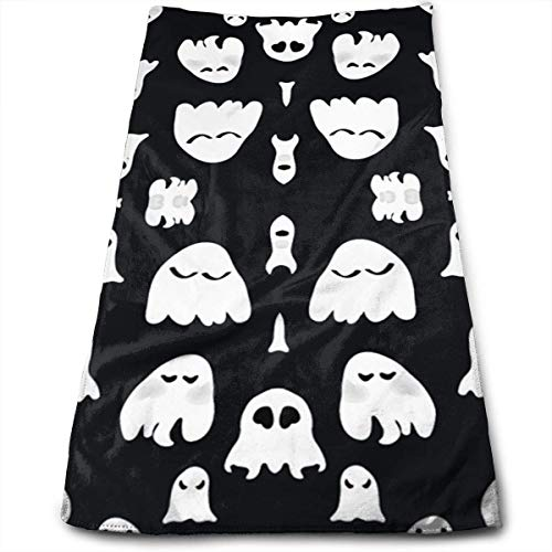 ewtretr Asciugamani Viso-Mani,Ghosts Cool Towel Beach Towel Instant Cool Ice Towel Gym Quick Dry Towel Microfibre Towel Cooling Sports Towel for Golf Swimming Yago Football Beach Garden Holiday