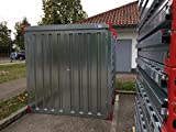 Container Baucontainer Lagercontainer Blechcontainer Gerätecontainer Materialcontainer 2,25m (XS) - 2