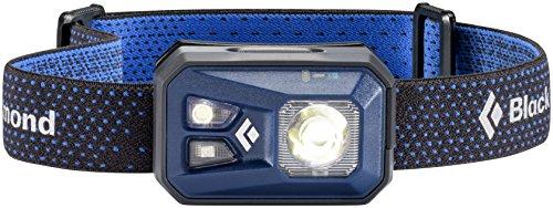 Black Diamond ReVolt Headlamp Denim / Wiederaufladbare Stirnlampe mit Rotlicht, Blinklicht und dimmbarer LED / Wasserdicht nach IPX8, max. 300 Lumen