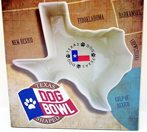 Texas geformte Fressnapf
