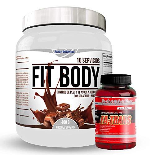 Pack adelgazamiento : Batido sustitutivo de comida + quema grasas termogenico dieta...