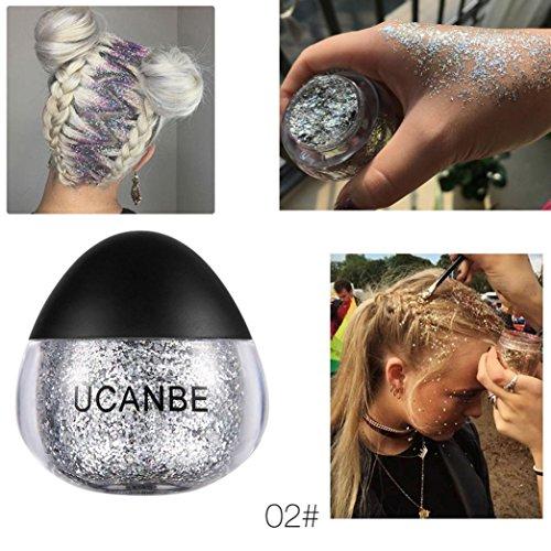 Quick Eyes Cream Shadow (Sansee Makeup Glitzer Lidschatten Schimmern Pigment Lose Pulver (1PC * Schimmerpuder, B))