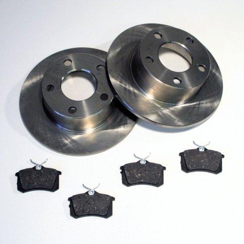 Bremsscheiben/Bremsen + Beläge hinten