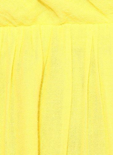 VERO MODA Women's Cotton A-Line Dress (10132077_Buttercup_S)