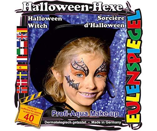 Für Gesicht - Halloween-Hexe Eulenspiegel, EU 204184 ()