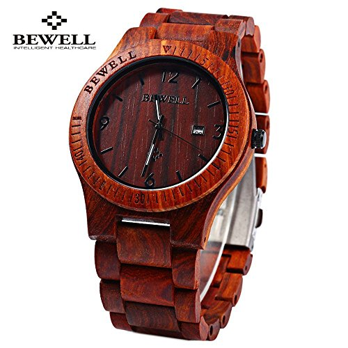 Bewell-ZS-W086B-Wooden-Watches-Men-Quartz-Wrist-Watch-Day-Date-Watch