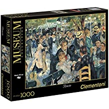 Clementoni 31412 - Puzzle Renoir - Bal du Moulin de la Galette, Collezione Museum, 1000 Pezzi