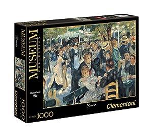 Clementoni - 31412 - Museum Collection Puzzle - Renoir, Bal du Moulin de la Galette - 1000 Pezzi