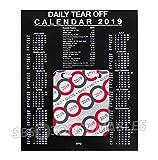 2019libera installazione ufficio calendario giornaliero a strappo. 1Day a vista. Daily citazioni e fatti. Dto