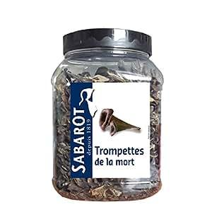 Sabarot - Trompettes de la mort séchées en pot 250g