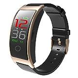 Festnight Smart Armband Armbanduhr Smart Band Intelligente Armbänder Sport Fitness Tracker Blutdruck Pulsmesser Aktivität Tracker Schrittzähler IP67 Wasserdicht