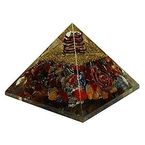 HARMONIZE Multistone Orgon Pyramide Reiki Healing Kristall Chakra Balancing Therapie-Energie-Generator
