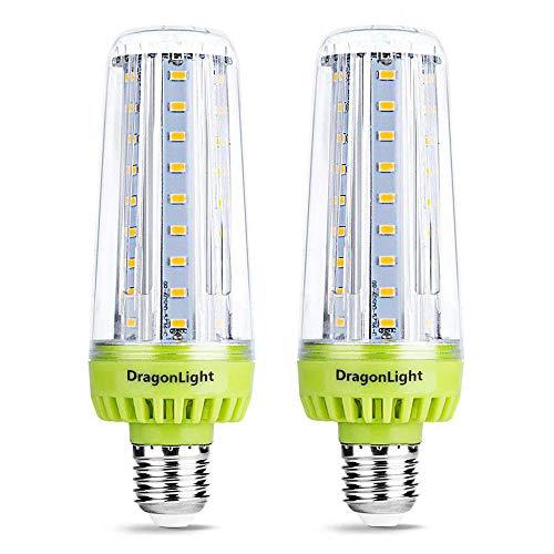 20W Superhelle Mais Licht LED Glühbirnen(Ersetzt 200Watt) - E27 Edison LED Lampe - 6000K Kaltweiß 2320 Lumen für Gewerblichen Bereich Beleuchtung - Garage Werkstatt Büro Hof(2er-Pack) -