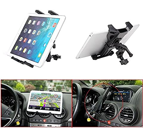 Universel voiture auto climatisation Évent support supporti pour iPad air 2 1/iPad 4 3 2 1