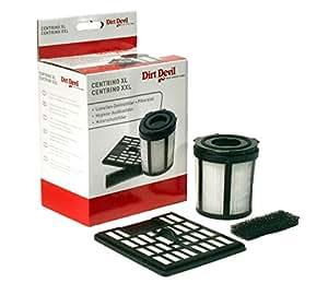 Dirt devil-set filtre - 4 pièces-modèle m 2720 m2724 m2010 aspirateur centrino xL, xXL