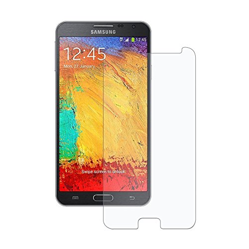 Plus Premium Tempered Glass , 9H Hardness, 2.5D Curved Edge, Ultra Clear Anti-Fingerprints For Samsung Galaxy Note 3