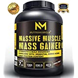Nutrimuscle MASSIVE Muscle Mass Gainer -7 LBS - Choco Treat Flavour- With A Free T-shirt