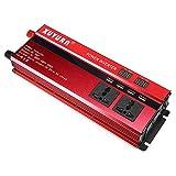 Hanbaili Inversor Solar para automóvil Inversor de energía Solar Alto Rendimiento 2000W Pico DC24V a AC220V Vehículo Transformador