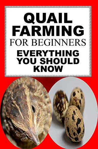 Quail Farming For Beginners: Everything You Should Know (English Edition)