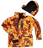 Browning XPO Drückjagdjacke Big Game Jacke Blaze Orange Camo (3XL)