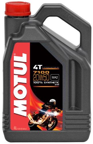Motul 104104 7100 à moteur 4 temps 20 w-50, 4 l pas cher