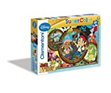 Clementoni 26876.4 - Puzzle Jake and The Neverland Pirates, 60 Teile