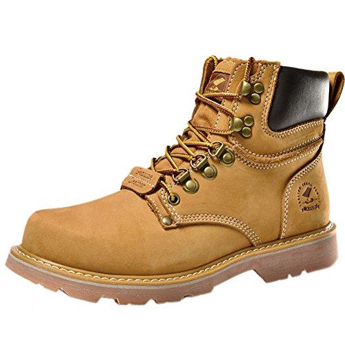 Insun , Herren Stiefel, gelb - gelb - Größe: 38 - Cold Weather Combat Boots