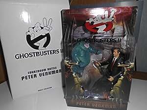Ghostbusters 16cm Figur: Peter Venkman (Courtroom) with Nunzio Scolari Ghost